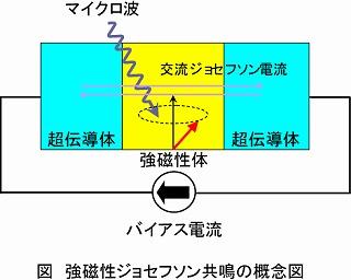 図:スピンゼーベック効果の概念図